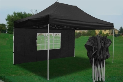 Heavy Duty 10u0027 x 15u0027 Black Pop Up Party Tent : tent heavy duty - memphite.com