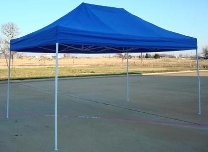 Heavy Duty 10u0027 x 15u0027 Blue Pop Up Party Tent & Duty 10u0027 x 15u0027 Blue Pop Up Party Tent