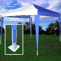 High Quality 10x10 Blue White Pop Up Canopy Party Tent Ez Cs