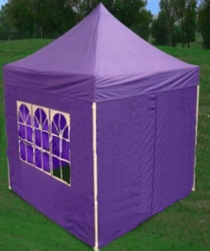 8u0027 x 8u0027 Easy Pop Up Purple Canopy / Tent & x 8u0027 Easy Pop Up Purple Canopy / Tent