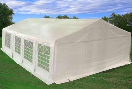 Heavy Duty 26u0027x20u0027 White Party Wedding Tent Canopy Carport & Duty 26u0027x20u0027 White Party Wedding Tent Canopy Carport