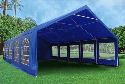 Royal Blue 32u0027 x 20u0027 Heavy Duty Party Wedding Tent Canopy Carport & Blue 32u0027 x 20u0027 Heavy Duty Party Wedding Tent Canopy Carport