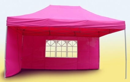 Brand New 10 X 15 Pink Pop Up Canopy Tent