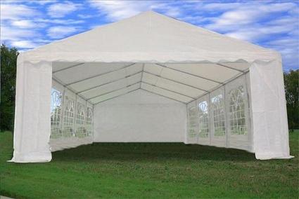 Heavy Duty 32u0027 x 16u0027 White Party Wedding Tent Canopy Carport & Duty 32u0027 x 16u0027 White Party Wedding Tent Canopy Carport