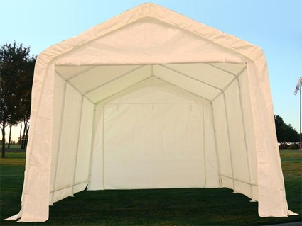White 20u0027 x 10u0027 Heavy Duty Party Tent / Carport : 20x10 canopy tent - memphite.com