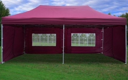 Maroon 10u0027 x 20u0027 Pop Up Canopy Party Tent & 10u0027 x 20u0027 Pop Up Canopy Party Tent