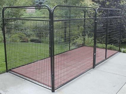 839 x 839 x 639 basic wire modular dog kennel for Best deals on dog kennels