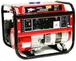 1500 watt Portable Gas Powered Electric Generator