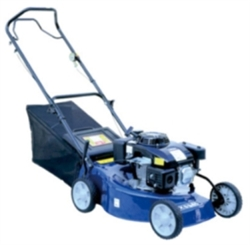 "6 HP Gas 19"" Walk Behind Push Lawn Mower"