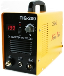 200 AMP DC TIG Inverter Welder With ARC Starting and Digital LCD Display