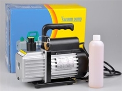 High Quality 3 CFM Single Stage Rotary Vane Refrigerant Vacuum Pump
