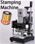 High Quality Manual Hot Foil Stamper Stamping Printing Machine