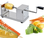 Brand New Stainless Steel Professional Twist Potato Cutter