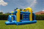 Inflatables Tunnel Course Bounce House