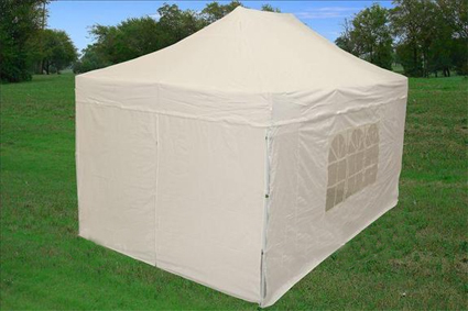 10 X15 White Easy Pop Up Canopy Tent