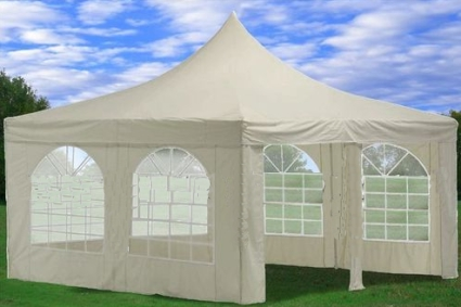 This White 13u0027 x 13u0027 Canopy Tent is perfect for parties business use and any other special occasions. This is a great tent that has the benefit of windows ... & White 13u0027 x 13u0027 Canopy Party Tent