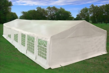 White 40 X 20 Heavy Duty Party Wedding Tent Canopy Carport