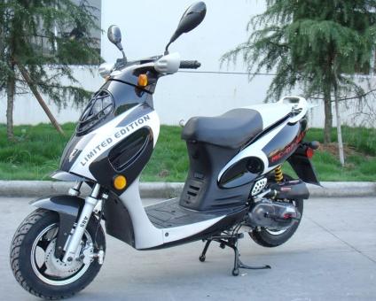 50cc Single Cylinder 2 Stroke Moped