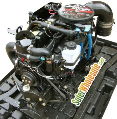 3.0L MerCruiser Complete Marine Engine Package