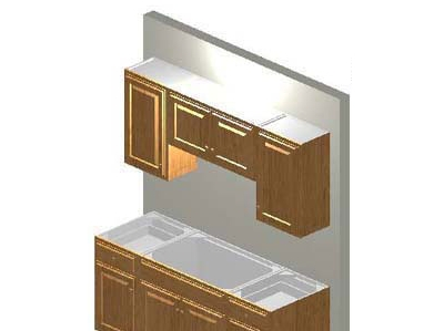 Complete 6ft shaker style all wood kitchen cabinet system for Complete kitchen cabinet packages