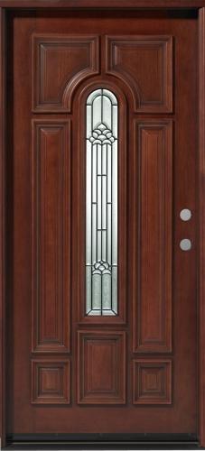 Solid Wood Mahogany 36 Quot Pre Hung Exterior Door