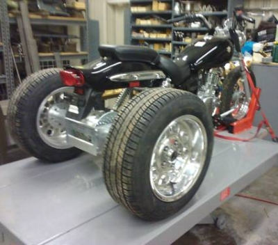 Kawasaki Vulcan 500 Motorcycle Trike Conversion Kit