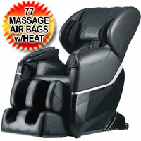 Brand New Electric Full Body Shiatsu Massage Chair Recliner Zero Gravity 77 Massage Air Bags With Heat