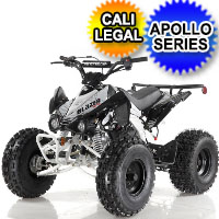125 Atv Apollo Series 125cc Sport ATV Four Wheeler - Blazer 7