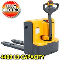 "Electric Walkie Pallet Truck 4400lbs Capacity 48"" x27"" Fork - CBD20KD-II"