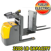 Electric Low Level Order Picker 2200lb Load Capacity - OPL10S