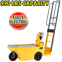 Electric Stock Tractor 990lbs Load Capacity 990lbs - Rated Traction 2200lbs - QDD25R