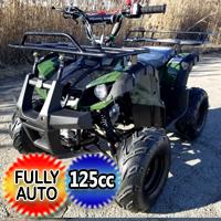 125cc Rider Atv Four Wheeler Utility Quad - Rider 7