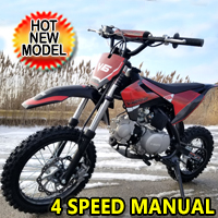 125cc Dirt Bike Fully Automatic Pit Bike - DB-X6