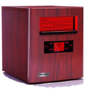 Iheater 1500 Advanced Infrared Heater Warms 1500 Sq Feet