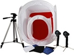 "Brand New Professional 16"" & 24"" Photo Boxes Light Tent Kit"