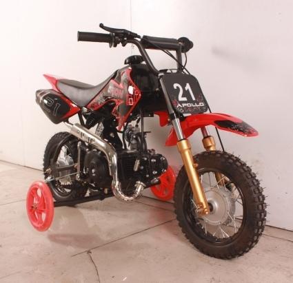 70cc Fully Automatically 4 Stroke Dirt Bike