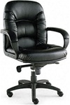 High Quality Black Nico Mid Back Swivel & Tilt Chair