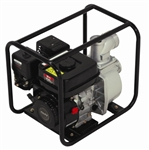 "196cc Gas Powered Centrifugal Water Pump w/ 3"" Diameter Hose System"