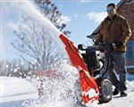 "Brand New Professional 28 Electric Start Snow Blower with 28"" Clearing Width"