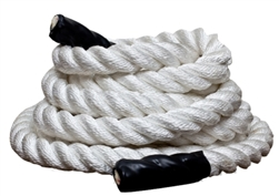 "50 Ft 2"" Poly Dacron Strength Training Undulation Fitness Rope"