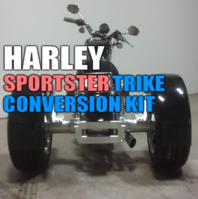 Harley Davidson Sportster Motorcycle Trike Conversion Kit