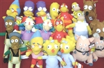 Simpsons Licensed Plush Toys For Crane Machine - 150 Pieces
