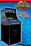 "SuperCade with 19"" VGA Monitor & 50 Legendary Arcade Games"
