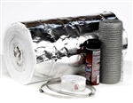 "1/2"" x 25' Chimney Liner Insulation Kit - Fits 3"" - 6"" Liners"