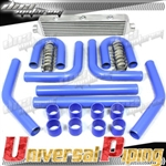 Brand New 8pc Universal Piping + Intercooler For Turbo/Supercharger