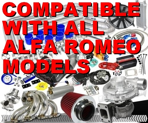 Awesome Complete Alfa Romeo High Performance Turbo / Charger Universal Kit  (Gain 200+ H P  - Complete Kit)