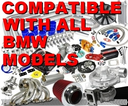 Complete BMW High Performance Turbo / Charger Universal Kit (Gain 200+ H.P. - Complete Kit)