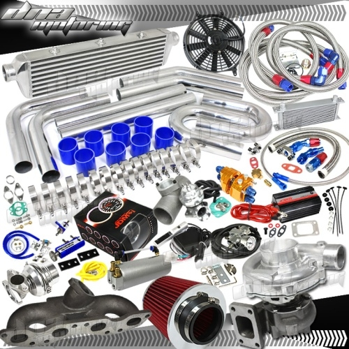 Brand New Nissan 240SX KA24 Cast Iron Full Turbo/Charger Kit 380+HPS PSI