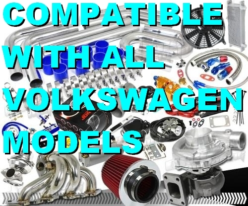 Brand New Quality High Performance Volkswagen Turbo / Charger Universal Kit  (Gain 200+ H P  - Complete Kit)