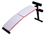 Portable Curved Decline Sit Up / Ab Crunch Bench